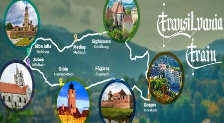 traseul transilvania train