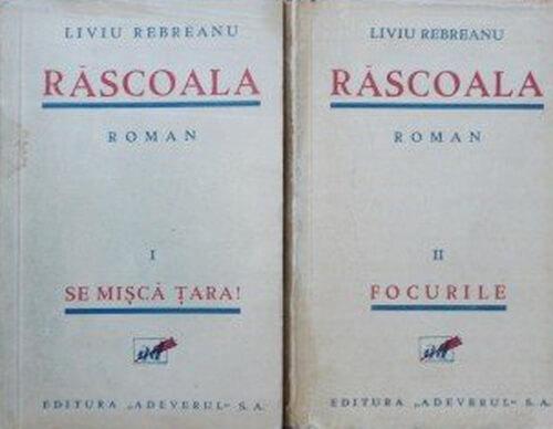 """""""Răscoala"""", ediția princeps, București, Editura Adevărul, 1932"""