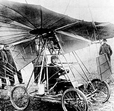 """Avionul """"Vuia I"""" la Montesson, în 18 martie 1906"""