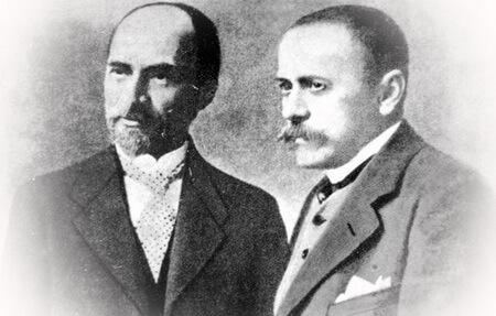 George Coșbuc și I. L. Caragiale