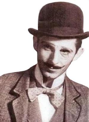 Ion Vova în rolul lui Rică Venturiano