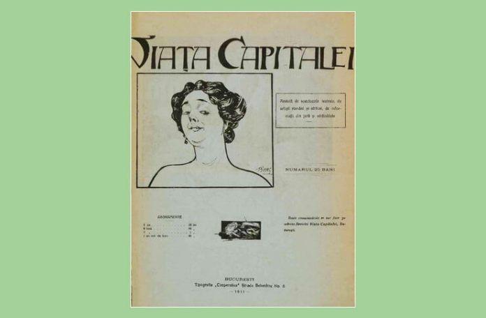 Pușa Roth Viața Capitalei revista anii 1910