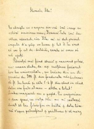 Scrisoare a lui Coșbuc către Slavici, datată 17 septembrie 1886. Sursa http:// www.tribuna.ro/