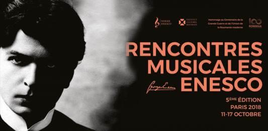 Intalnirile muzicale Enescu Paris