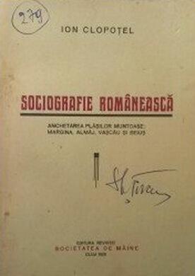 """Cluj, Editura revistei """"Societatea de mâine"""", 1928"""