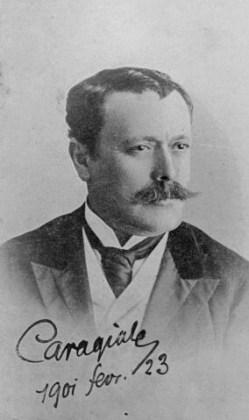 caragiale semnatura 1901