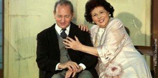 Dan Puric și Adela Mărculescu. Foto Florin Ghioca, TNB