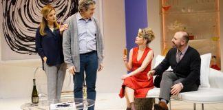 """Imagine din spectacolul """"Minciuna"""" de Florian Zeller, Teatrul Beit Lessin din Tel Aviv"""
