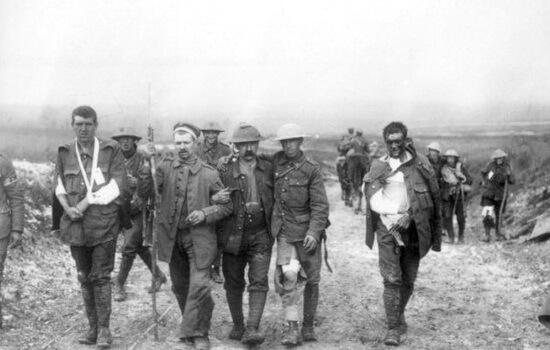 Răniţi în Primul Război Mondial