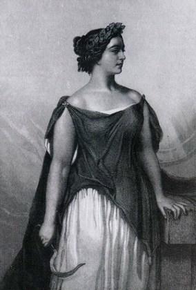 """Giulia Grisi în """"Norma"""" (1844)"""