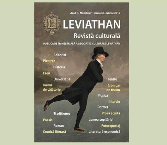 """Leviathan"" revista trimestriala an II nr. 1 ian_martie 2019"