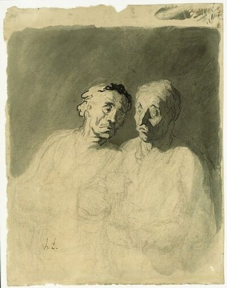 """Doi bețivi"", 1860–1879"
