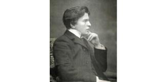 """George Enescu, fotografie din revista """"Luceafărul"""", 1912"""
