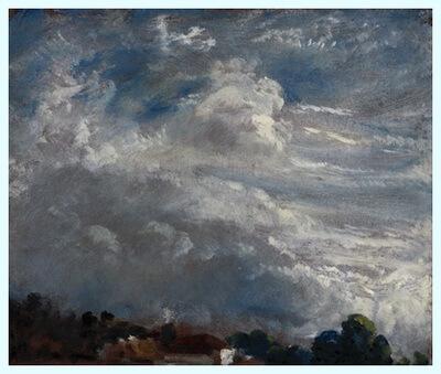 """""""Orizont cu arbori"""", 27 septembrie 1821"""