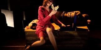 """Imagine din spectacolul """"O scoarță subțire"""" de Yehoshua Sobol, Teatrul Tmu-na din Tel Aviv"""
