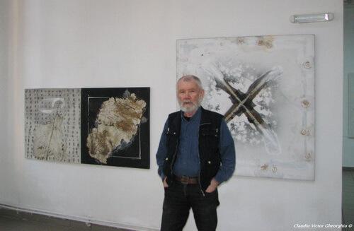 Pictorul Vasile Tolan. Foto: Claudiu Victor Gheorghiu