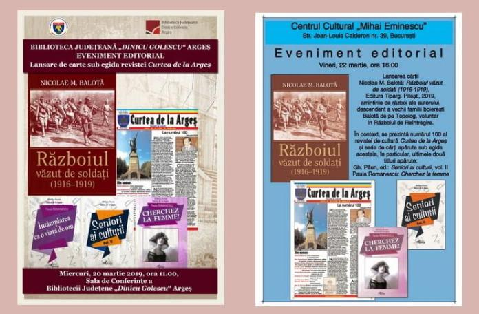 eveniment editorial revista curtea de arges