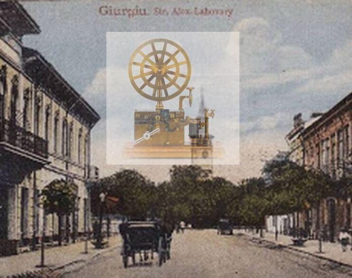 prima linie de telegraf tara romaneasca