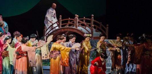 """Imagine din spectacolul """"Madama Butterfly"""" de Giacomo Puccini, Opera Națională București"""