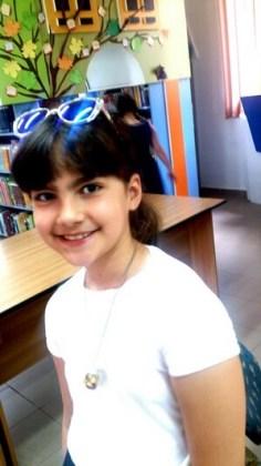 """Ana Maria Balan, 9 ani, Şcoala gimnazială """"Fănuş Neagu"""", Brăila"""