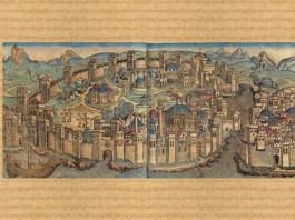 Constantinopol, ilustrație din secolul al XV-lea