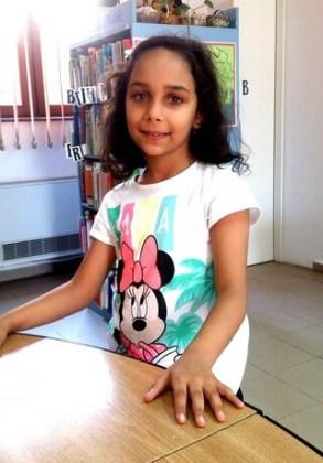 """Ema Popîrlan, 8 ani, Şcoala gimnazială """"Anghel Saligny"""", Brăila"""