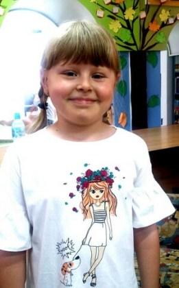 """Emma Miruna Buţia, 8 ani, Şcoala gimnazială """"Fănuş Neagu"""", Brăila"""