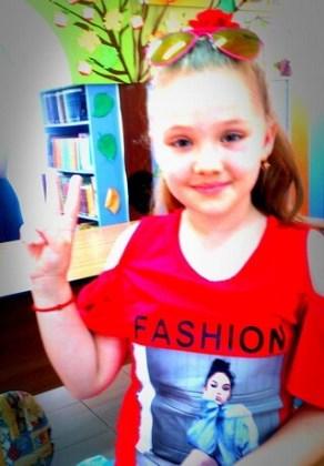 """Ilaria Turea, 8 ani, Şcoala gimnazială """"Vasile Alecsandri"""", Brăila"""