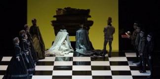 """Imagine din spectacolul """"Don Carlo"""" de Verdi, Opera Națională București. Fotografie de Sebastian Bucur"""