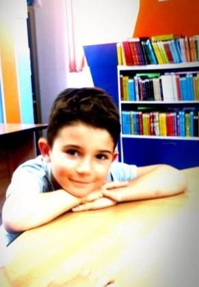 """Patrick Dîrnea, 6 ani, Şcoala gimnazială """"Mihai Eminescu"""", Brăila"""