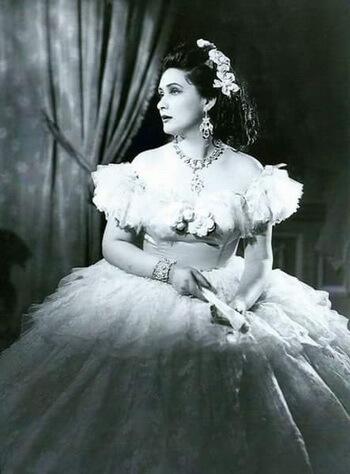 Virginia Zeani. Fotografie din arhiva personală