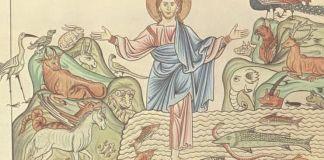 Gîndire simbolică şi enciclopedism monastic, Creatio mundi în Hortus Deliciarum