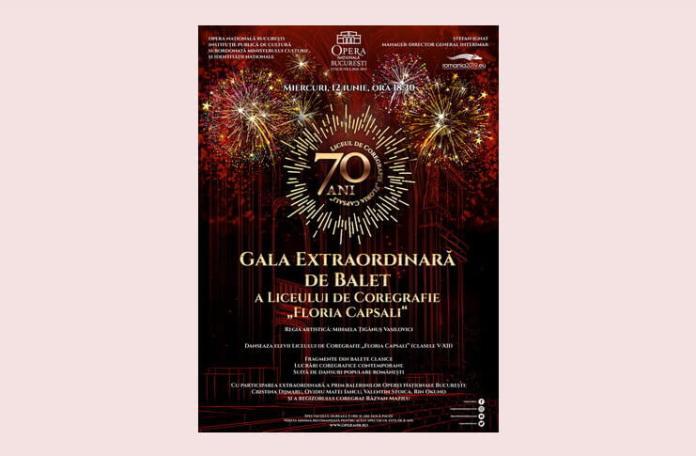 gala de balet liceu floria capsali