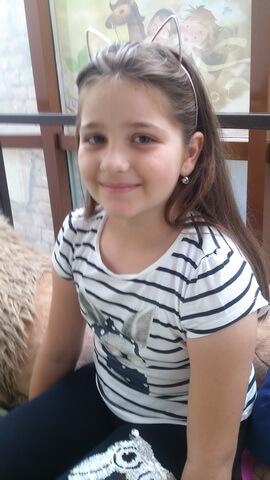 """Sara-Maria Toader, 7 ani,.Liceul de arte """"Hariclea Darclée"""", Brăila"""