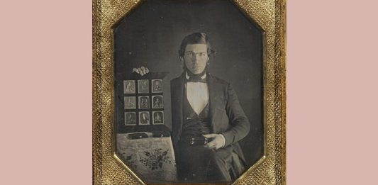 Portret la dagherotip, 1845