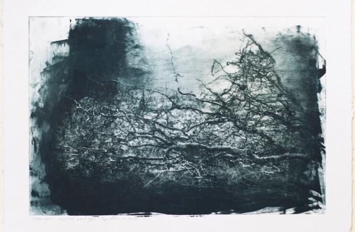 """Adriana Pop, Suita nr. 3 pentru pian, """"Pièces improptues"""" de George Enescu, grafică de șevalet"""