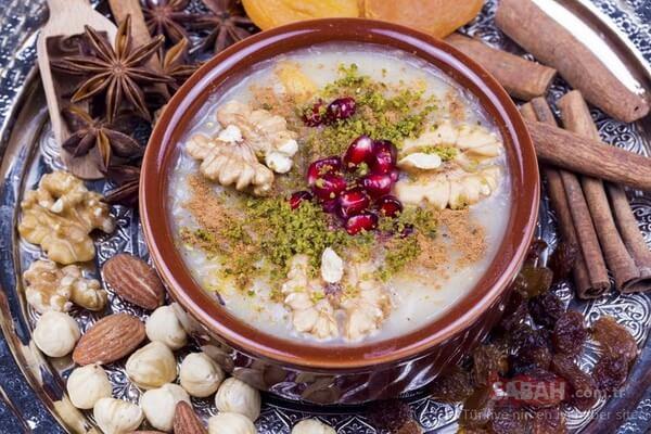 Budincă de Âșure și mirodenii, Sursa foto: sabah.com.tr
