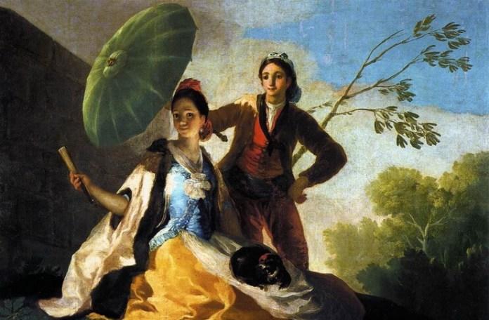 "Francisco de Goya, ""Umbrela"""