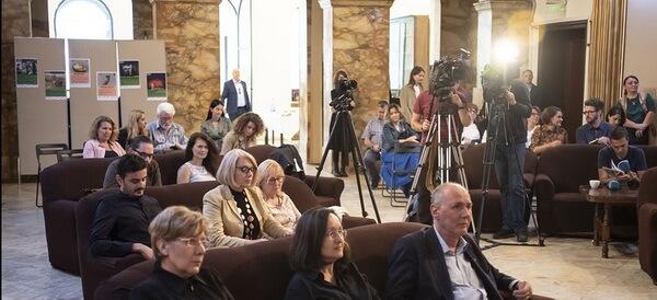 Imagine de la conferința de presă, 26 septembrie 2019, ICR