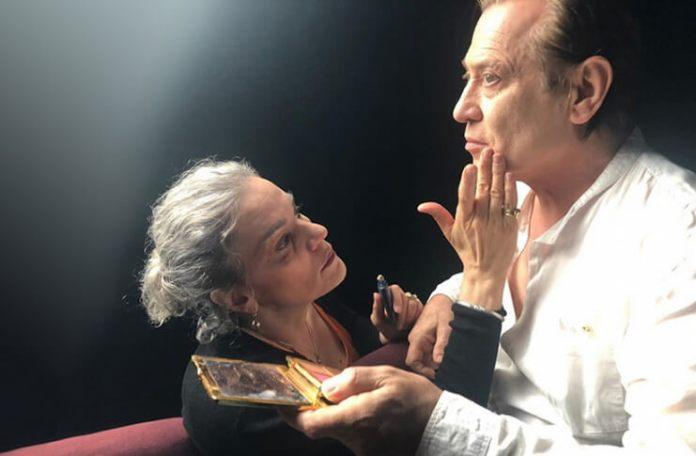 "Imagine din spectacolul ""Marina & Ulay"". Sursa foto: ICR"