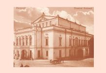 Vechiul Teatru Național din București (1852 – 1944). Sursa foto: site-ul TNB