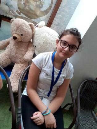 """Cristina Bratu, 13 ani, Şcoala gimnazială """"Mihai Eminescu"""", Brăila"""
