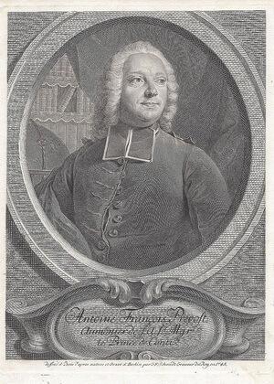 Abatele Antoine François Prévost (1 aprilie 1697 – 25 noiembrie 1763). Portret de Georg Friedrich Schmidt, 1745