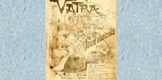 """Vatra"", nr. 1, 1894. Sursa foto: BCU Cluj-Napoca"