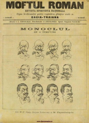 """""""Moftul român"""", numărul 7, 19 februarie 1893, pag. 1"""