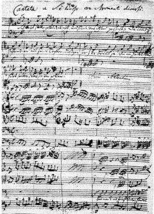 """J. S. Bach, """"Cantata cafelei"""""""