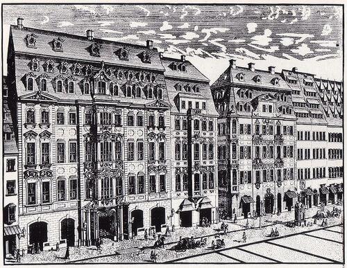 Johann Georg Schreiber (1676 – 1750), Cafeneaua Zimmermann, Leipzig