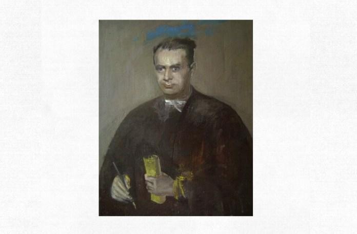 Lucian Blaga, portret de Adina Romanescu