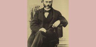 Ludwig Minkus, fotografie de Bruno Braquehais, cca 1870