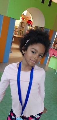 """Nira Guedenon, 7 ani, Liceul Pedagogic """"D. P. Perpessicius"""", Brăila"""""""
